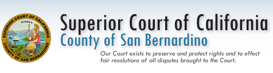 Superior Court of California, County of San Bernardino